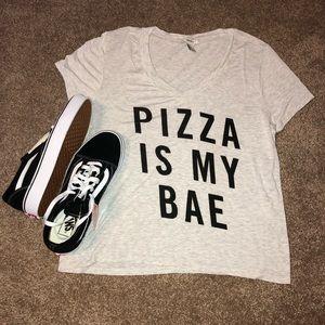 Forever 21 Pizza Shirt